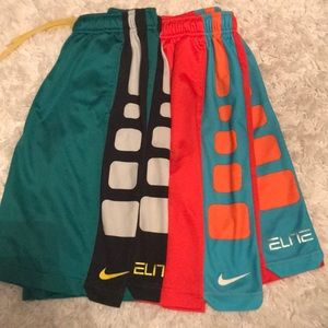 Nike Bottoms - BUNDLE OF NIKE BOYS BASKETBALL SHORTS